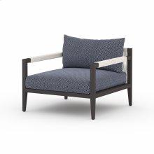 Faye Navy Cover Sherwood Outdoor Chair, Bronze