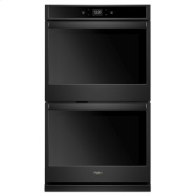 8.6 cu. ft. Smart Double Wall Oven with Touchscreen Black
