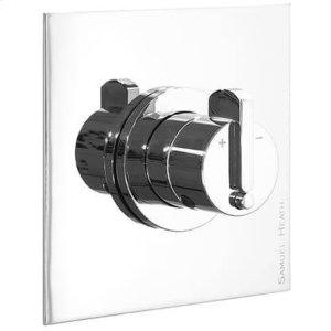 Matt Black Chrome Trim set for V133-AIS thermostatic valve