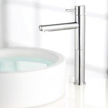 Serin 1-Handle Monoblock Vessel Bathroom Faucet - Polished Chrome
