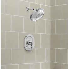 Quentin Water-Saving Shower Only Trim with Pressure Balance Cartridge  American Standard - Polished Chrome