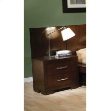 Jessica Cappuccino Two-drawer Nightstand Back Panel (pair)