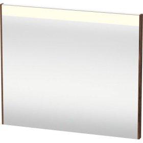 Mirror With Lighting, Walnut Dark Decor