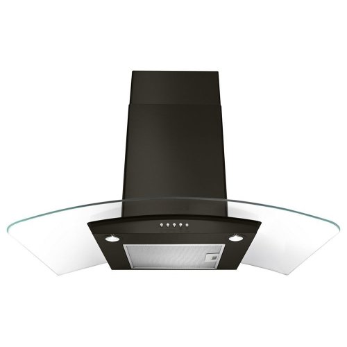 "30"" Concave Glass Wall Mount Range Hood"