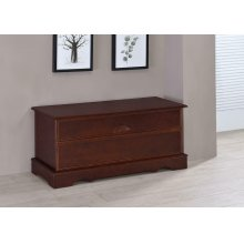 Traditional Cedar Brown Chest