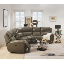 LONNA TAUPE SECTIONAL SOFA