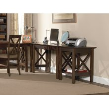 Lexi Desk with Drawer in Walnut
