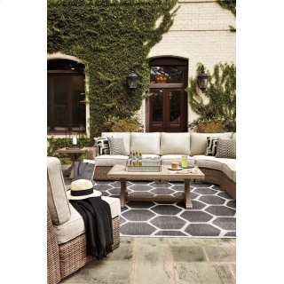 Beachcroft - Beige 2 Piece Patio Set