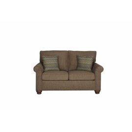 Loveseat - Mocha Chenille Finish