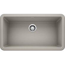 """Blanco Ikon® 33"""" Apron Front - Concrete Gray"""