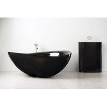 Papillon Bathtub Black Granite