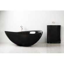 Papillon Bathtub Black Granite