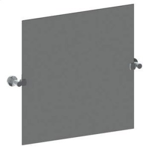 """Wall Mounted 24"""" Square Pivot Mirror Product Image"""