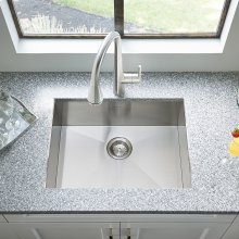 Edgewater Dual Mount 25x22 Stainless Steel Kitchen Sink  American Standard - Stainless Steel
