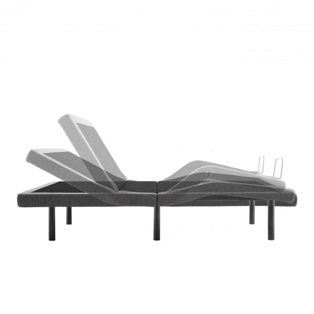 Malouf Eastman Upholstered Platform Bed, Queen, Oat