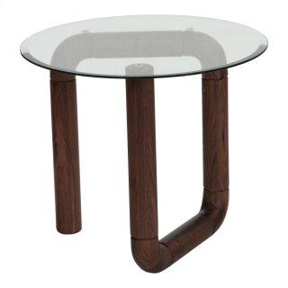 Boa Side Table Walnut
