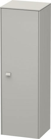 Semi-tall Cabinet, Concrete Gray Matt Decor