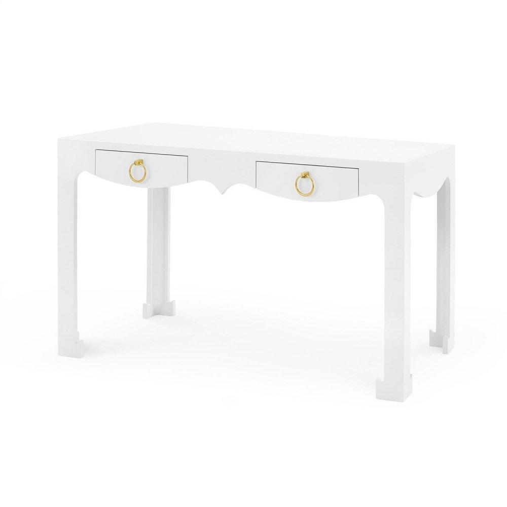 Jordan Console/Desk, White
