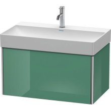 Vanity Unit Wall-mounted, For Durasquare # 235380jade High Gloss (lacquer)