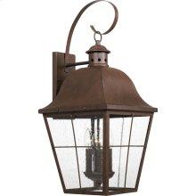 Millhouse Outdoor Lantern in Copper Bronze