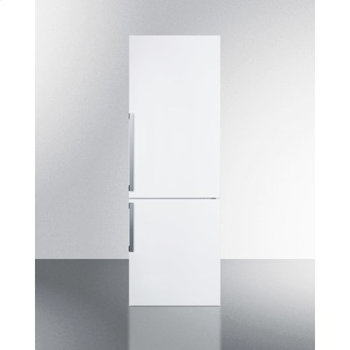 Frost-free Energy Star Certified Bottom Freezer Refrigerator In White With Digital Controls; Replaces Ffbf240wx