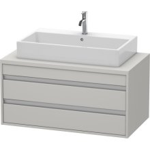 Ketho Vanity Unit For Console, Concrete Gray Matte (decor)