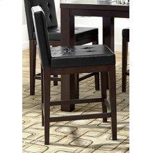 Counter Uph Dining Chair (2 per ctn) - Dark Chocolate Finish