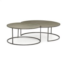 Galvanized Finish Catalina Nesting Coffee Table