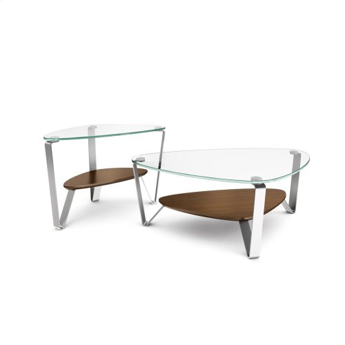 Small Coffee Table 1344 in Chocolate Stained Walnut