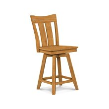 Ava 24'' Swivel Counter Stool