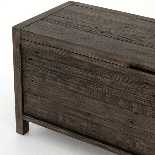 Caminito Blanket Box-rustic Black Olive