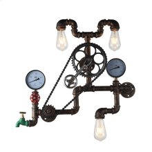 Luminaire Industrial Pipe Wall Light