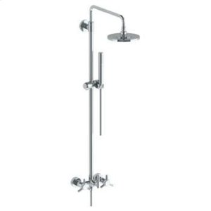 Wall Mounted Exposed Shower With Hand Shower Product Image