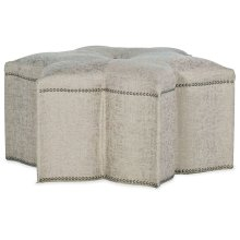 Living Room Sanctuary Star of the Show Ottoman