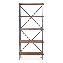 "Organic Forge Bookshelf 34"" Raw Walnut"