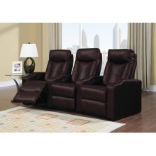 Brown Broadway Middle Recliner