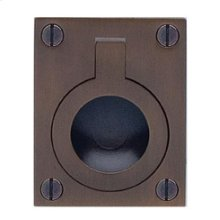 Rectangular Drop Ring in SB (Shaded Bronze, Lacquered)