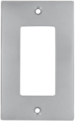 Single Rocker Modern Swithcplate in (US26D Satin Chrome Plated) Product Image