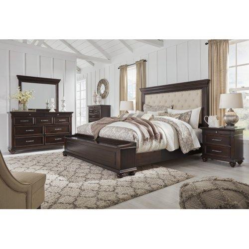 Brynhurst - Dark Brown 2 Piece Bedroom Set