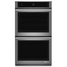 "Euro-Style 30"" Double Wall Oven with Upper MultiMode® Convection System Stainless Steel"