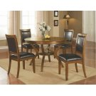 Nelms Casual Deep Brown Dining Table Product Image