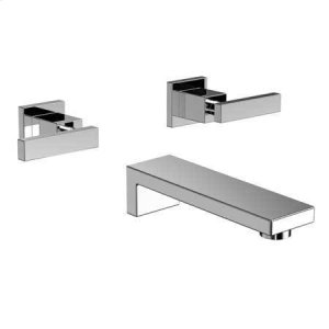 Stainless Steel - PVD Wall Mount Tub Faucet