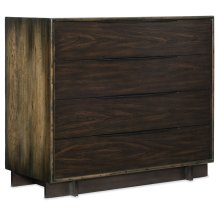 Bedroom Crafted Four-Drawer Bachelor Chest