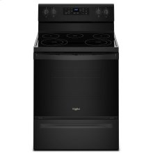 5.3 cu. ft. Freestanding Electric Range with Frozen Bake Technology Black