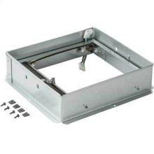 Radiation Damper for Ventilation Fans and Fan/Lights