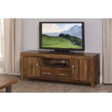 Emerson Entertainment Console - Natural Sheesham