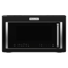 1000-Watt Convection Microwave Hood Combination Black
