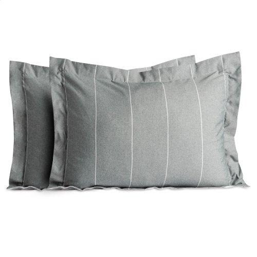 Chambray Comforter Set Cal King Birch