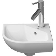 Me By Starck Handrinse Basin Corner Model 1 Faucet Hole Punched