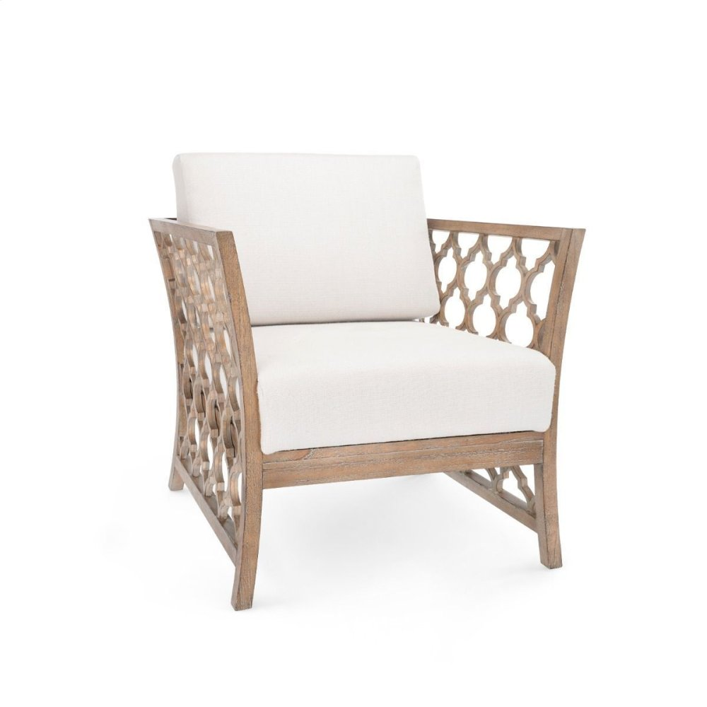Parkan Club Chair, Driftwood